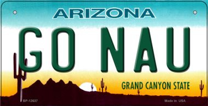 Go Northern Arizona Univ Novelty Metal Bicycle Plate BP-12637