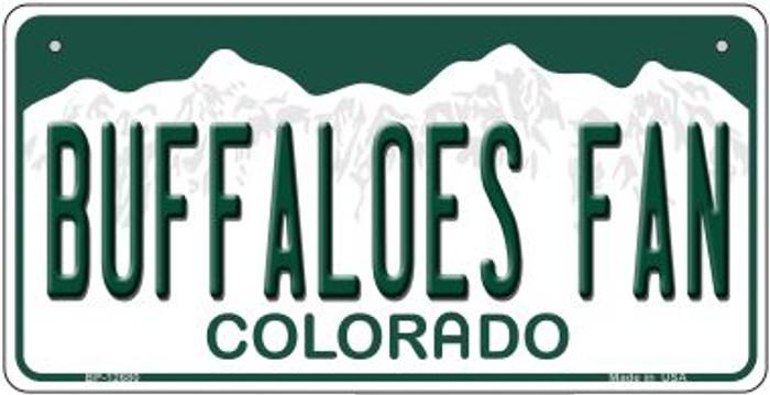 Buffaloes Fan Novelty Metal Bicycle Plate BP-12680