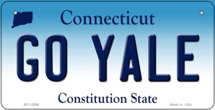 Go Yale Novelty Metal Bicycle Plate BP-12696
