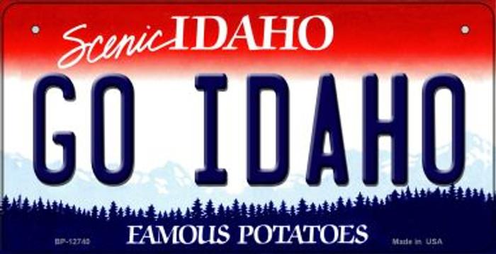 Go Idaho Novelty Metal Bicycle Plate BP-12740