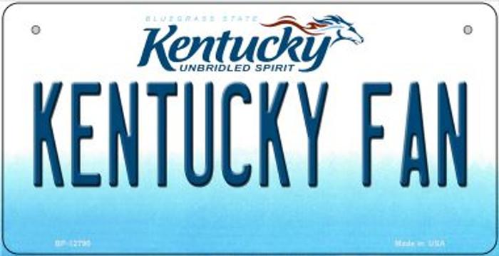 Kentucky Fan Novelty Metal Bicycle Plate BP-12790