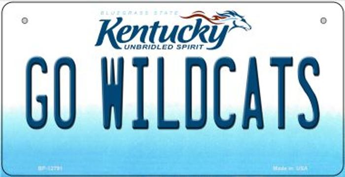 Go Wildcats Novelty Metal Bicycle Plate BP-12791