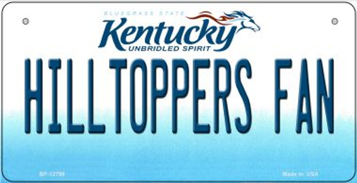 Hilltoppers Fan Novelty Metal Bicycle Plate BP-12798