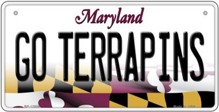 Go Terrapins Novelty Metal Bicycle Plate BP-12806