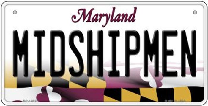 Midshipmen Novelty Metal Bicycle Plate BP-12811