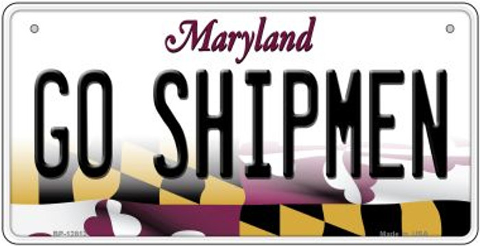 Go Shipmen Novelty Metal Bicycle Plate BP-12812