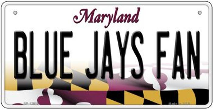 Blue Jays Fan Novelty Metal Bicycle Plate BP-12819