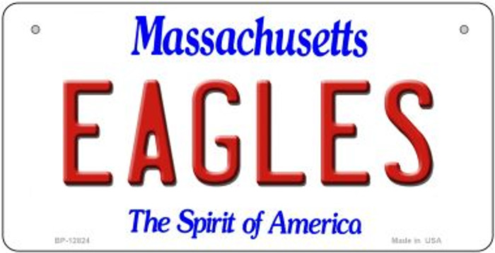 Eagles Novelty Metal Bicycle Plate BP-12824