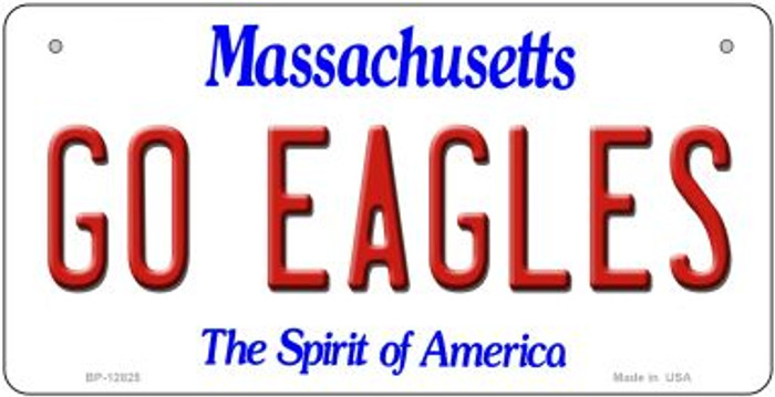 Go Eagles Novelty Metal Bicycle Plate BP-12825