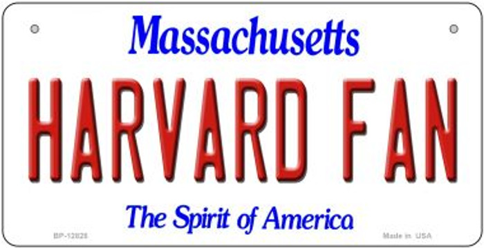 Harvard Fan Novelty Metal Bicycle Plate BP-12828