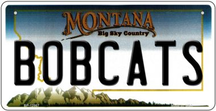 Bobcats Novelty Metal Bicycle Plate BP-12867