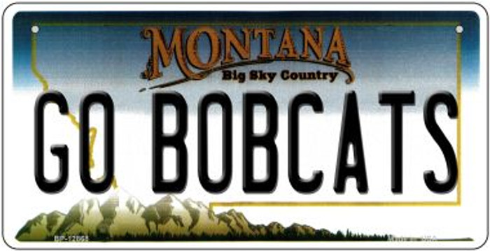 Go Bobcats Novelty Metal Bicycle Plate BP-12868