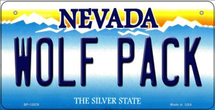 Wolf Pack Novelty Metal Bicycle Plate BP-12876