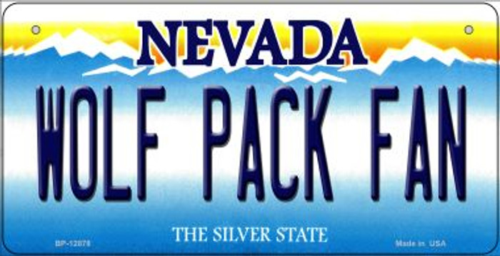 Wolf Pack Fan Novelty Metal Bicycle Plate BP-12878