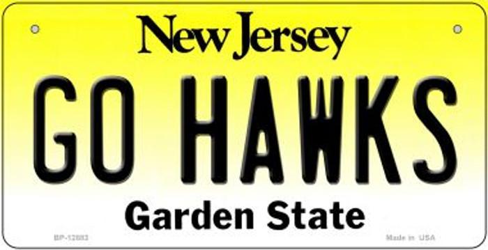 Go Hawks Novelty Metal Bicycle Plate BP-12883