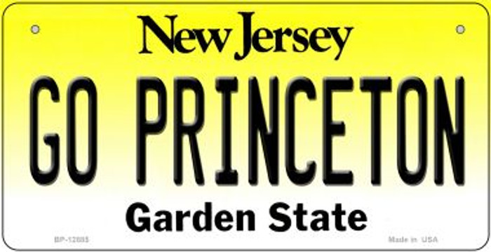 Go Princeton Novelty Metal Bicycle Plate BP-12885