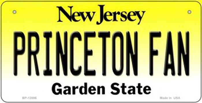 Princeton Fan Novelty Metal Bicycle Plate BP-12886