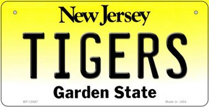 Tigers Novelty Metal Bicycle Plate BP-12887