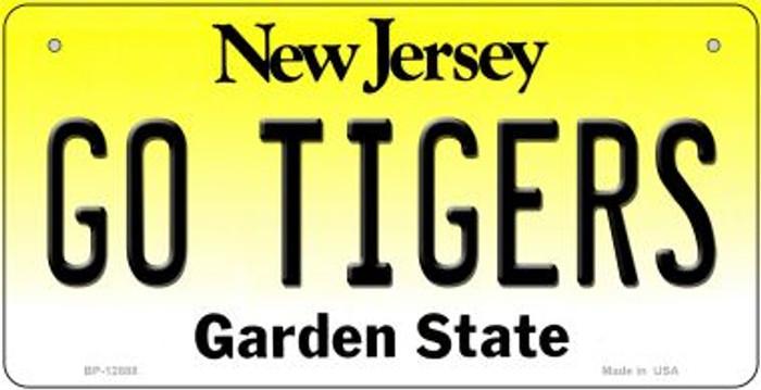 Go Tigers Novelty Metal Bicycle Plate BP-12888