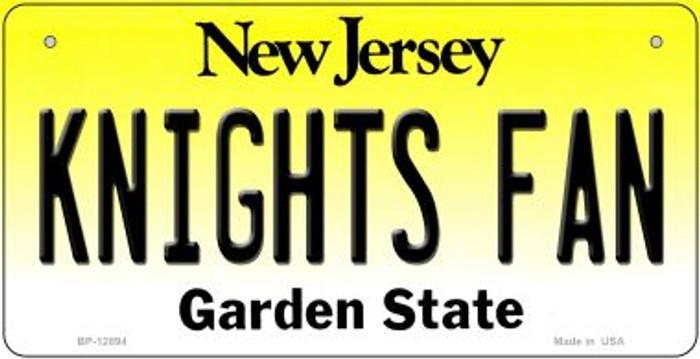 Knights Fan Novelty Metal Bicycle Plate BP-12894