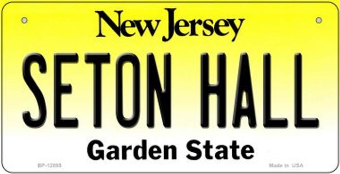 Seton Hall Novelty Metal Bicycle Plate BP-12895