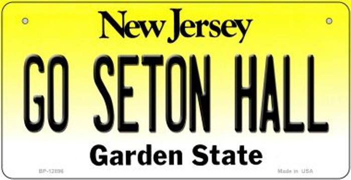 Go Seton Hall Novelty Metal Bicycle Plate BP-12896
