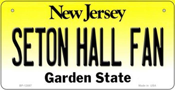 Seton Hall Fan Novelty Metal Bicycle Plate BP-12897