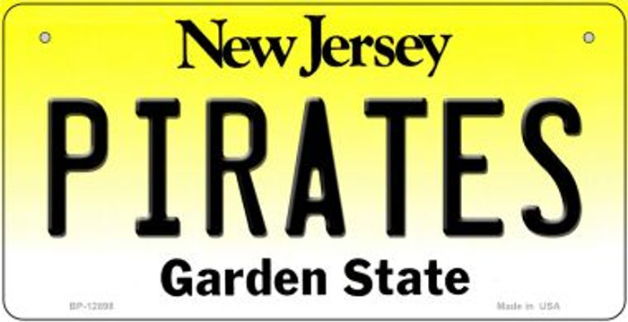 Pirates Novelty Metal Bicycle Plate BP-12898