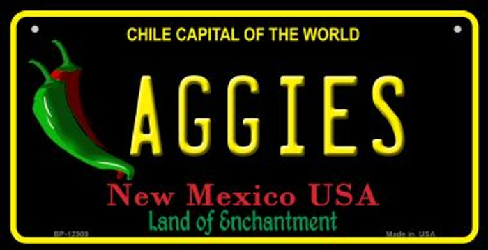Aggies Novelty Metal Bicycle Plate BP-12909