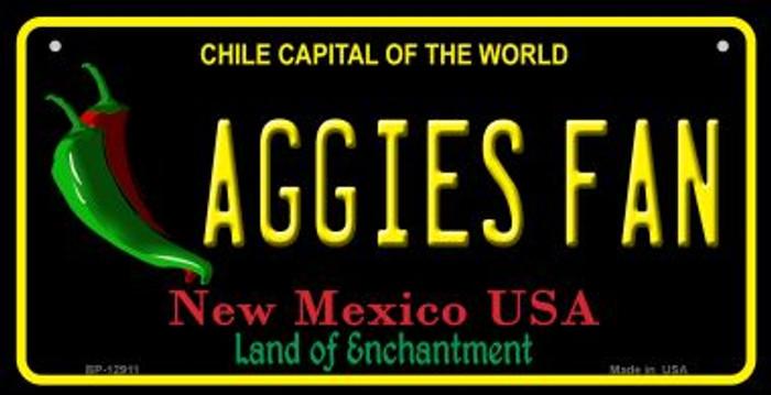 Aggies Fan Novelty Metal Bicycle Plate BP-12911