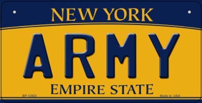 Army Novelty Metal Bicycle Plate BP-12923