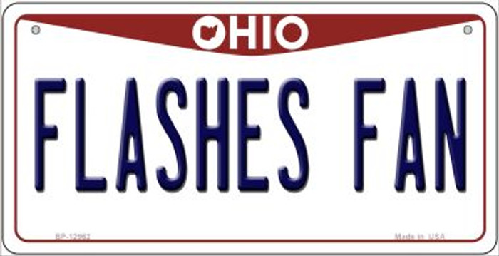 Flashes Fan Novelty Metal Bicycle Plate BP-12962
