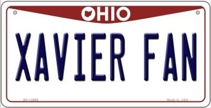 Xavier Fan Novelty Metal Bicycle Plate BP-12969