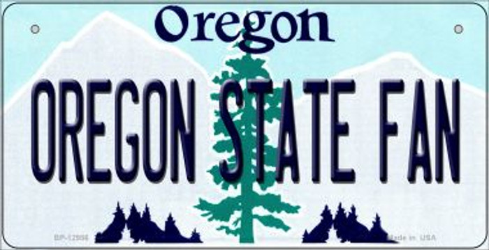 Oregon State Fan Novelty Metal Bicycle Plate BP-12986