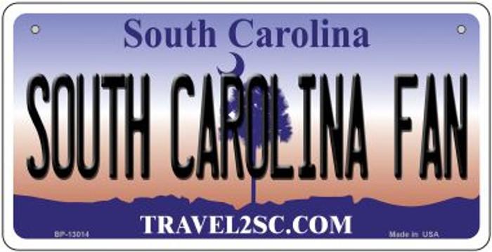 South Carolina Fan Novelty Metal Bicycle Plate BP-13014