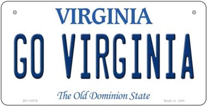 Go Virginia Novelty Metal Bicycle Plate BP-13079