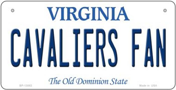 Cavaliers Fan Novelty Metal Bicycle Plate BP-13083