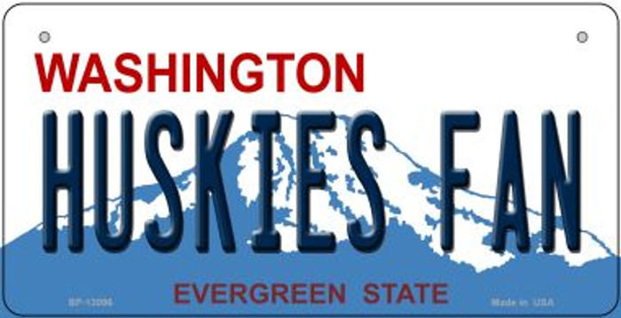 Huskies Fan Novelty Metal Bicycle Plate BP-13096