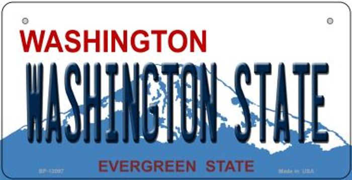Washington State Novelty Metal Bicycle Plate BP-13097