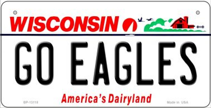 Go Eagles Novelty Metal Bicycle Plate BP-13118