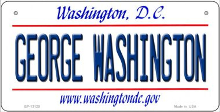 George Washington Novelty Metal Bicycle Plate BP-13129