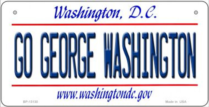 Go George Washington Novelty Metal Bicycle Plate BP-13130