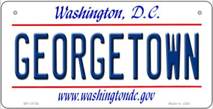 Georgetown Novelty Metal Bicycle Plate BP-13135