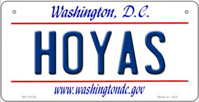 Hoyas Novelty Metal Bicycle Plate BP-13138