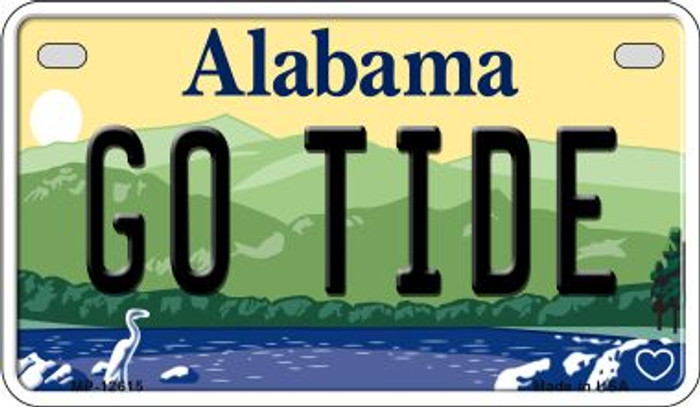 Go Tide Novelty Metal Motorcycle Plate MP-12615