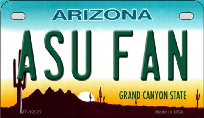 Arizona State Fan Novelty Metal Motorcycle Plate MP-12627