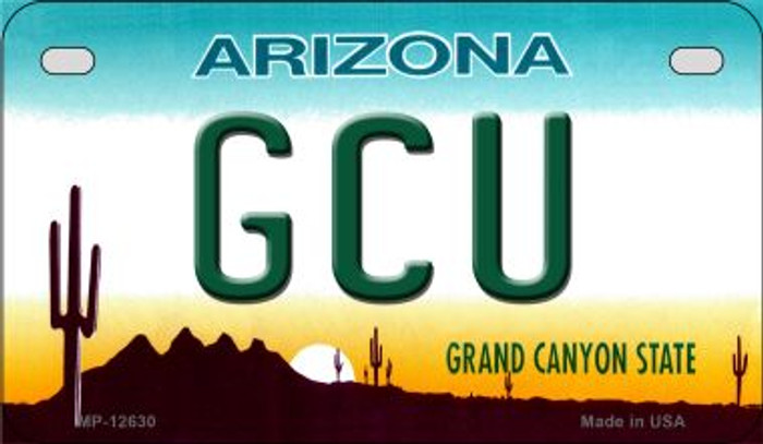 Grand Canyon Univ Novelty Metal Motorcycle Plate MP-12630