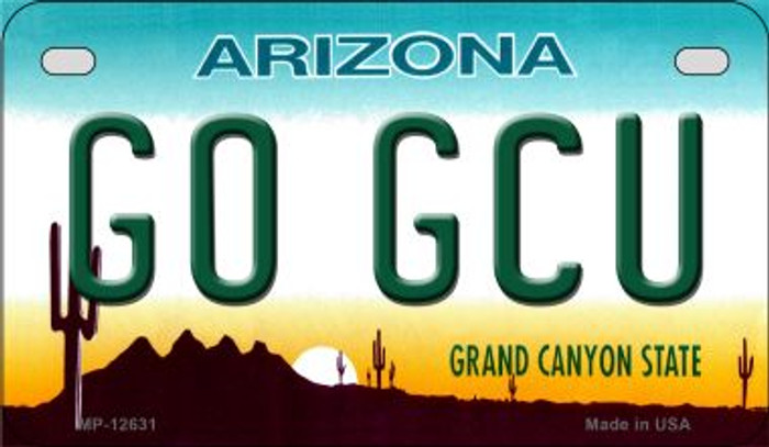 Go Grand Canyon Univ Novelty Metal Motorcycle Plate MP-12631