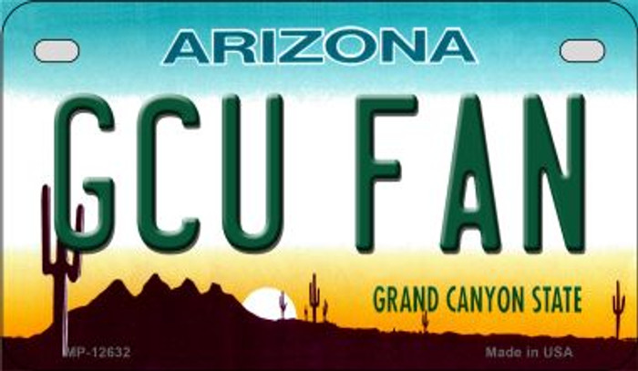 Grand Canyon Univ Fan Novelty Metal Motorcycle Plate MP-12632