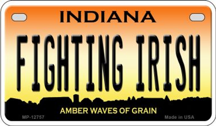 Fighting Irish Novelty Metal Motorcycle Plate MP-12757